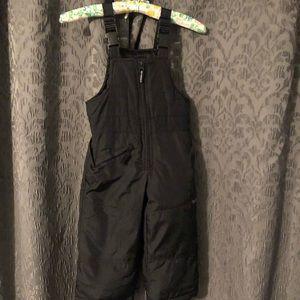 Size 2t Oshkosh snow suit bibs
